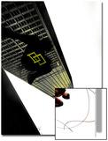 Daredevil: Reborn No.4 Cover: Daredevil Jumping from Buildings Art by  Jock