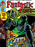 Fantastic Four No.247 Cover: Dr. Doom, Mr. Fantastic, Invisible Woman, Human Torch and Thing Posters by John Byrne