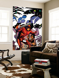Daredevil: Dark Nights 7 Cover: Daredevil, Misty Knight Wall Mural by Amanda Conner