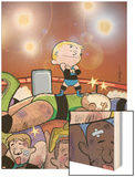 Franklin Richards: Summer Smackdown! No.1 Cover: Richards and Franklin Prints by Chris Eliopoulos
