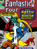 Fantastic Four No.40 Cover: Dr. Doom Poster by Jack Kirby