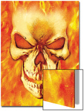 Ghost Rider No.15 Headshot: Ghost Rider Prints by Mark Texeira