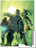 World War Hulk: Gamma Corps No.1 Cover: Griffin, Prodigy, Mess, Mr. Gideon and Grey Prints by Stephane Roux
