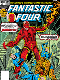 Fantastic Four N184 Cover: Thing Print by George Perez