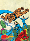 Marvel Knights 4 No.24 Cover: Mr. Fantastic Art