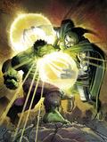 Incredible Hulk No.606 Cover: Hulk and Dr. Doom Prints by John Romita Jr.