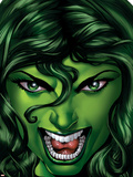 She-Hulk No.25 Cover: She-Hulk Wall Decal by Shawn Moll