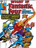 What If No.6 Cover: Mr. Fantastic, Invisible Woman, Human Torch, Thing and Fantastic Four Print by Jim Craig