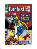 Fantastic Four No.40 Cover: Dr. Doom Plastic Sign by Jack Kirby