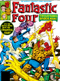 Fantastic Four No.218 Cover: Mr. Fantastic Prints by Frank Miller