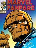 Marvel Fanfare 15 Cover: Thing Print by Barry Windsor-Smith