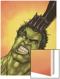 Defenders No.2 Cover: Hulk Wood Print by Kevin Maguire