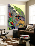 Ff 11 Cover: Medusa, She-Hulk, Ant-Man, Ms. Thing, Impossible Man Wall Mural by Michael Allred