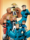 Fantastic Four And Power Pack No.1 Cover: Thing Plastic Sign by  Gurihiru