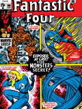 Fantastic Four No.106 Cover: Mr. Fantastic Poster by John Romita Sr.