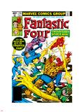 Fantastic Four No.218 Cover: Mr. Fantastic Kunststof borden van Frank Miller