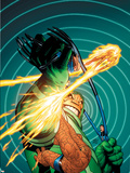Marvel Knights 4 No.11 Cover: Mr. Fantastic Plastic Sign by Steve MCNiven