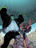 Incredible Hulks No.628: Hulk and Red She-Hulk Plastic Sign by Tom Grummett