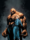 Marvel Knights 4 No.6 Cover: Thing, Storm and Sue Prints by Steve MCNiven
