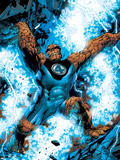 Ultimate Fantastic Four No.4 Cover: Thing Plastic Sign by Adam Kubert