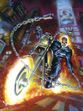 Ghost Rider Annual No.2 Cover: Ghost Rider Plastic Sign by Mark Texeira
