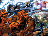 Fantastic Four No.553 Group: Thing, Invisible Woman and Mr. Fantastic Posters by Paul Pelletier