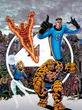 Fantastic Four Visionaries: George Perez Volume 1 Cover: Mr. Fantastic Plastic Sign by George Perez