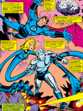 What If No.6 Group: Mr. Fantastic, Invisible Woman, Human Torch, Thing and Fantastic Four Posters by Jim Craig