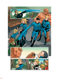 Fantastic Four And Power Pack No.1 Group: Thing Plastic Sign by  Gurihiru