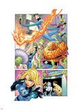 Marvel Knights 4 No.23 Group: Mr. Fantastic Plastic Sign by Mizuki Sakakibara