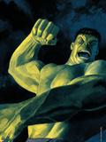 NightMerica No.5 Cover: Hulk Wall Decal