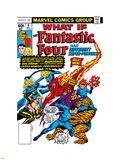 What If No.6 Cover: Mr. Fantastic, Invisible Woman, Human Torch, Thing and Fantastic Four Plastic Sign by Jim Craig