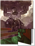 WWH Ahtersmash: Damage Control No.1 Cover: Hulk and Goliath Print
