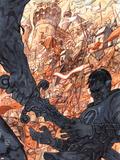 Fantastic Four: True Story 3 Cover: Mr. Fantastic Plastic Sign by Niko Henrichon