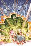 Indestructible Hulk 6 Cover: Hulk Plastic Sign by Walt Simonson