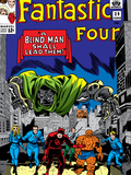 Fantastic Four No.39 Cover: Dr. Doom Posters by Jack Kirby