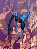 Ultimate Fantastic Four No.10 Cover: Mr. Fantastic Plastic Sign by Stuart Immonen