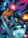 Secret Invasion: Fantastic Four No.3 Group: Thing Plastic Sign by Barry Kitson