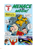The Fantastic Four No.13 Group: Mr. Fantastic Plastic Sign by Jack Kirby