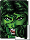 She-Hulk No.25 Cover: She-Hulk Posters by Shawn Moll