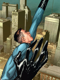 Marvel Knights 4 No.4 Cover: Mr. Fantastic Plastic Sign by Steve MCNiven