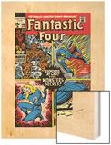 Fantastic Four No.106 Cover: Mr. Fantastic Print by John Romita Sr.