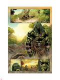 Skaar: King of The Savage Land No.3: Skaar Walking Plastic Sign by Brian Ching