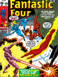 Fantastic Four No.105 Cover: Mr. Fantastic Posters by John Romita Sr.