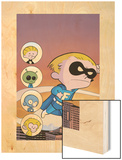 Franklin Richards: Sons Of Geniuses No.1 Cover: Richards and Franklin Art by Chris Eliopoulos