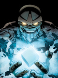 Ultimate Fantastic Four No.52 Cover: Thanos Plastic Sign by Greg Land
