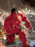 Hulk: Red Hulk Must Have Hulk No.1 Cover: Hulk Plastic Sign by Daniel Acuna