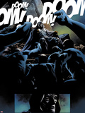 FF No.16: Dr. Doom Sitting Plastic Sign by Nick Dragotta