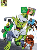 Fin Fang Four Return! No.1 Cover: Fin Fang Foom Posters by Roger Langridge