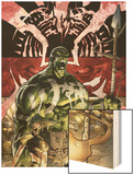 Incredible Hulk No.84 Cover: Hulk Wood Print by Andy Brase